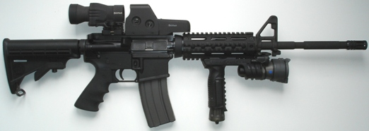 AR-15 Rifles, Bushmaster Custom Tactical Package
